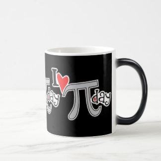 I heart Pi Day Magic Mug