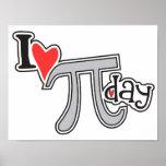 I heart Pi Day Print