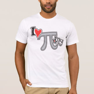I heart Pi Day T-Shirt