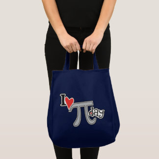 I heart Pi Day Tote Bag