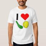 I Heart Pickle Ball Tees