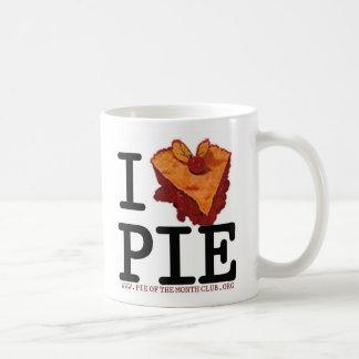 i (heart) PIE (and coffee) Mug!! Classic White Coffee Mug