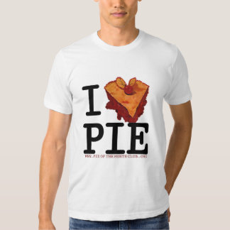 I (HEART) PIE T-SHIRT