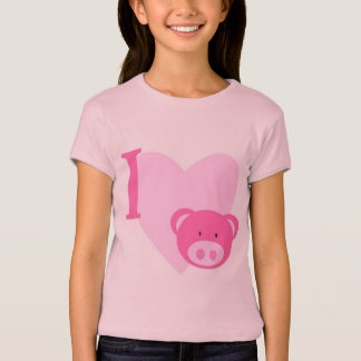 I Heart Pigs Shirts