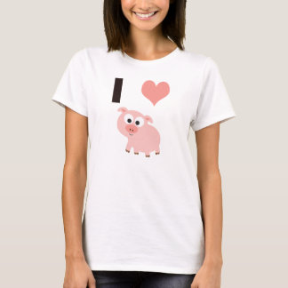 I heart pigs T-Shirt