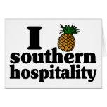 I Heart (Pineapple) Southern Hospitality Greeting Card