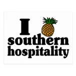 I Heart (Pineapple) Southern Hospitality Postcard