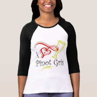 I Heart Pinot Gris Shirt