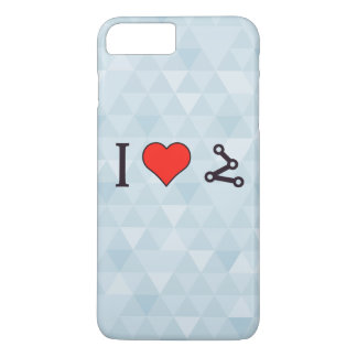I Heart Pinpointing A Target iPhone 7 Plus Case