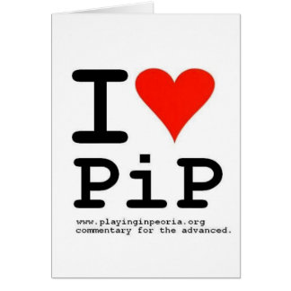 I Heart PiP Greeting Cards