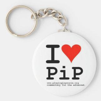 I Heart PiP Key Chains
