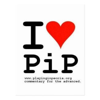 I Heart PiP Postcard
