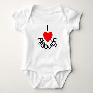 I Heart Pittsburgh Baby Bodysuit