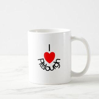 I Heart Pittsburgh Classic White Coffee Mug