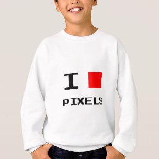 I Heart Pixels Sweatshirt