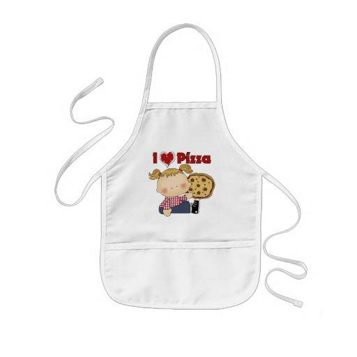 I Heart Pizza Kids' Apron