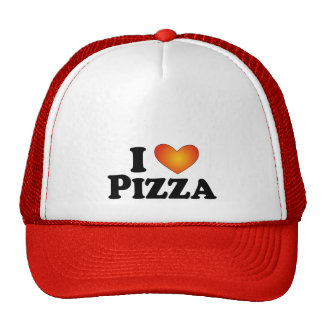 I (heart) Pizza - Lite Multi-Products Mesh Hats