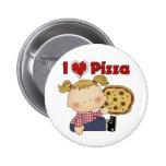 I Heart Pizza Pins