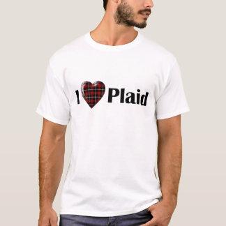 I Heart Plaid T-Shirt