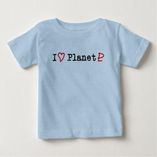 "I ""Heart"" Planet Pluto T Shirts"