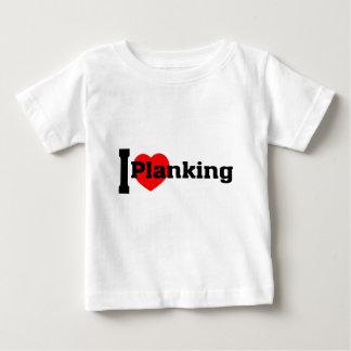 I (Heart) Planking Baby T-Shirt