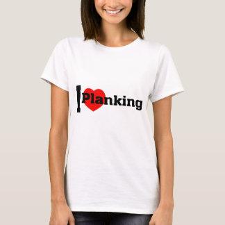 I (Heart) Planking T-Shirt