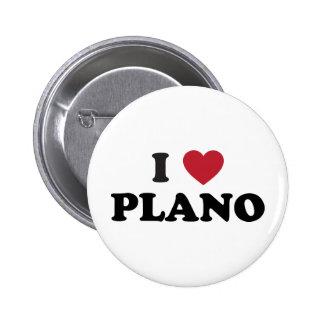 I Heart Plano Texas Button