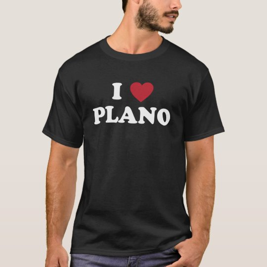 I Heart Plano Texas T-Shirt