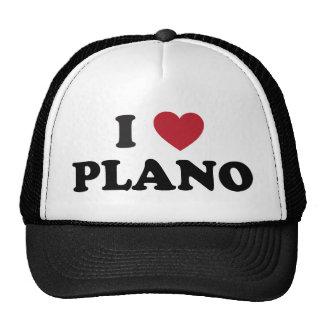I Heart Plano Texas Trucker Hat
