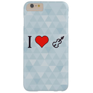 I Heart Playing A Violin Barely There iPhone 6 Plus Case