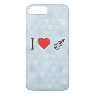 I Heart Playing A Violin iPhone 7 Plus Case