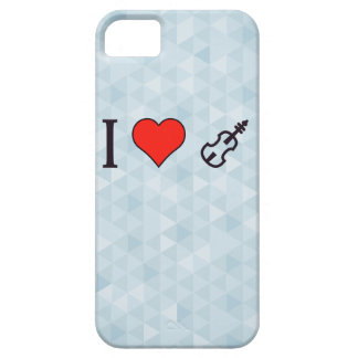 I Heart Playing A Violin iPhone SE/5/5s Case