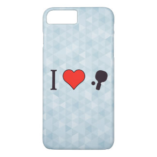 I Heart Playing Ping Pong iPhone 8 Plus/7 Plus Case
