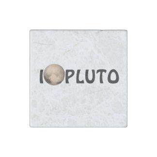 I Heart Pluto New Horizon Stone Magnet