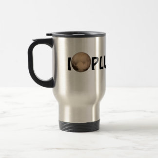 I Heart Pluto New Horizon Travel Mug