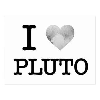 I Heart Pluto Postcard