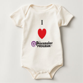 I Heart PMP for Baby Baby Bodysuit