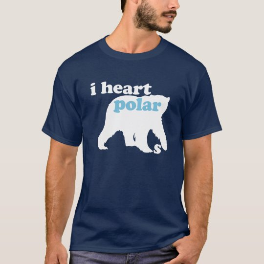 I Heart Polar Bears T-Shirt