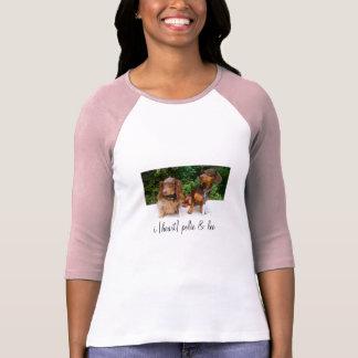 i [heart] polie + leo T-Shirt