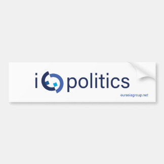 I Heart Politics (maybe too much) Bumper Sticker