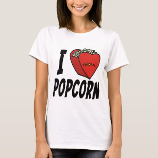 I Heart Popcorn T-shirts and Gifts
