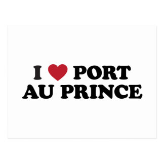 I Heart Port-au-Prince Haiti Postcard