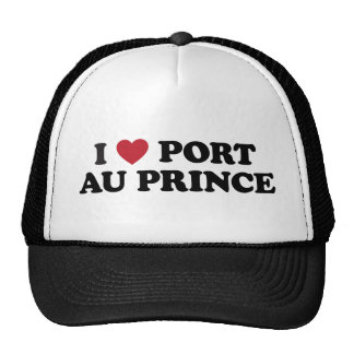 I Heart Port-au-Prince Haiti Trucker Hat