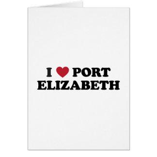I Heart Port Elizabeth South Africa Card