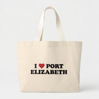 I Heart Port Elizabeth South Africa Large Tote Bag