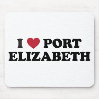 I Heart Port Elizabeth South Africa Mousepads