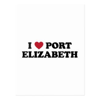 I Heart Port Elizabeth South Africa Postcard