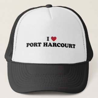 I Heart Port Harcourt Nigeria Trucker Hat