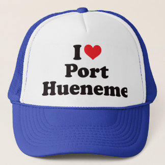 I Heart Port Hueneme Trucker Hat