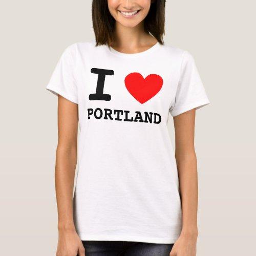 I Heart Portland Shirt